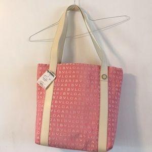 Bvlgari purse NWT and makeup bag.